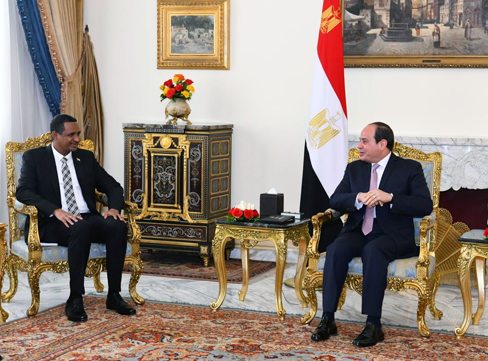 President Sisi, Sudan's Dagalo discuss developments in GERD issue - Egypt  Independent