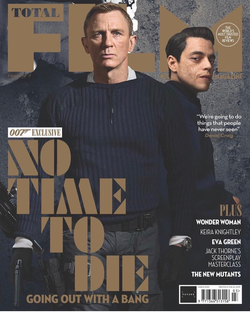 Rami Malek features prominently on poster for new James Bond movie ...