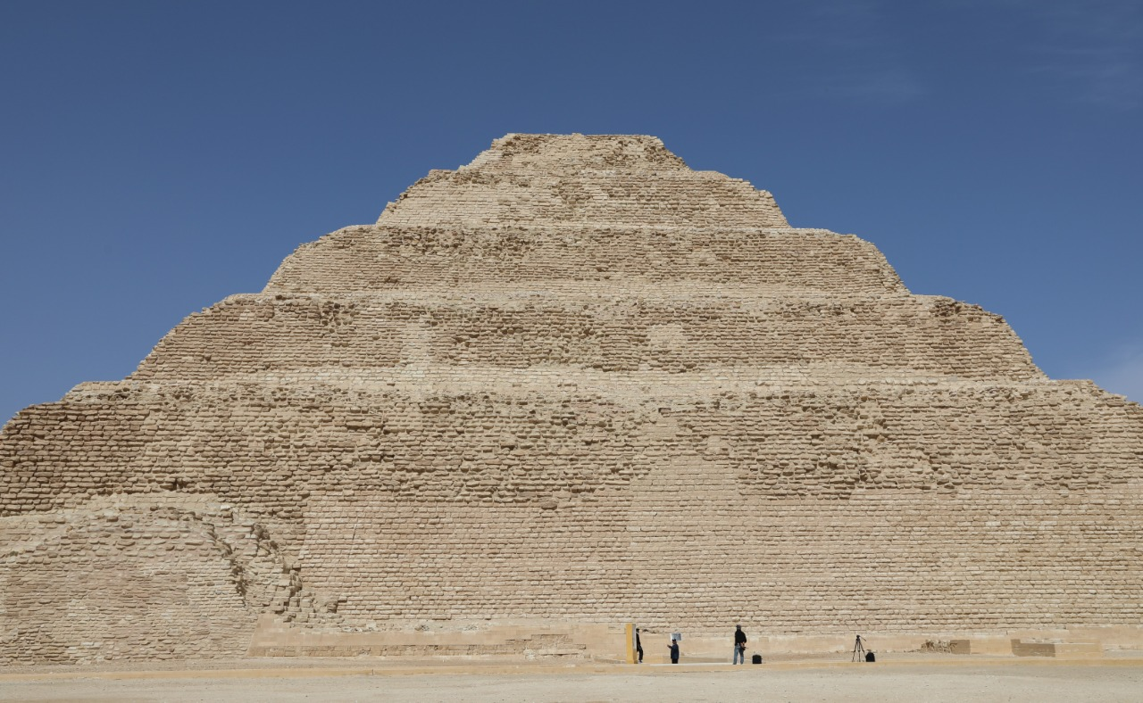 Egypt To Broadcast Virtual Tour Of Djoser Pyramid On Wednesday Egypt Independent