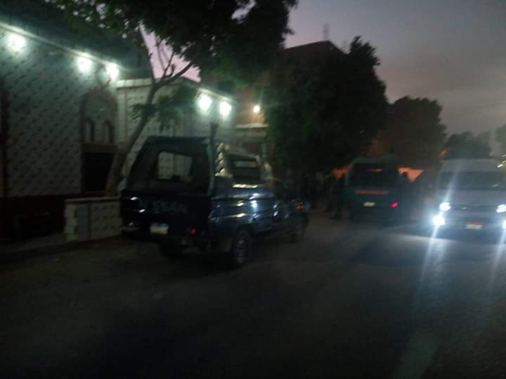 Egyptian Police arrest 83 people for violating curfew in Sohag