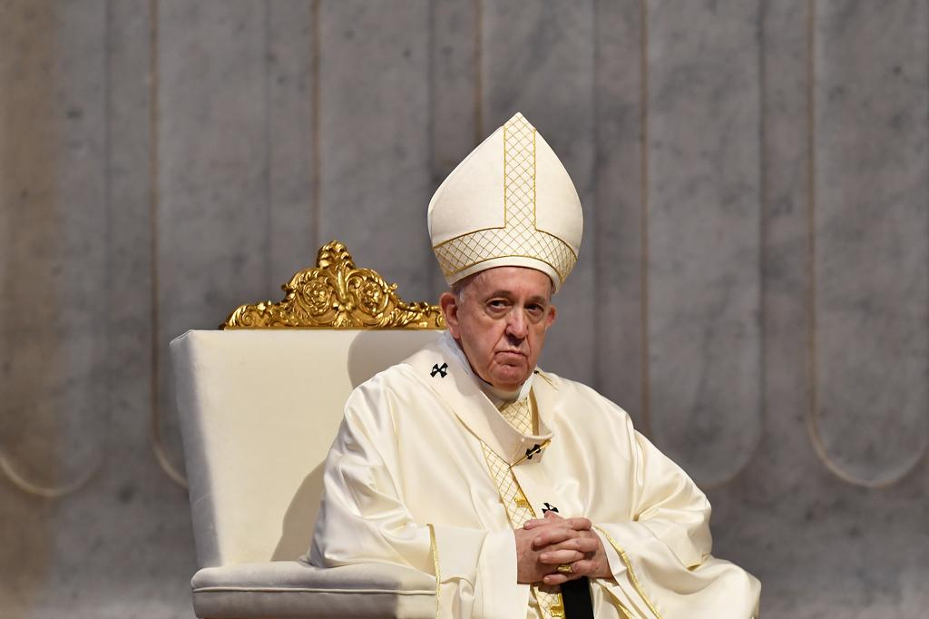 Pope holds his first post-lockdown audience