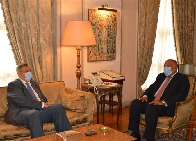 समर्थन देखाउन इजिप्टका विदेशमन्त्री लेबनानमा