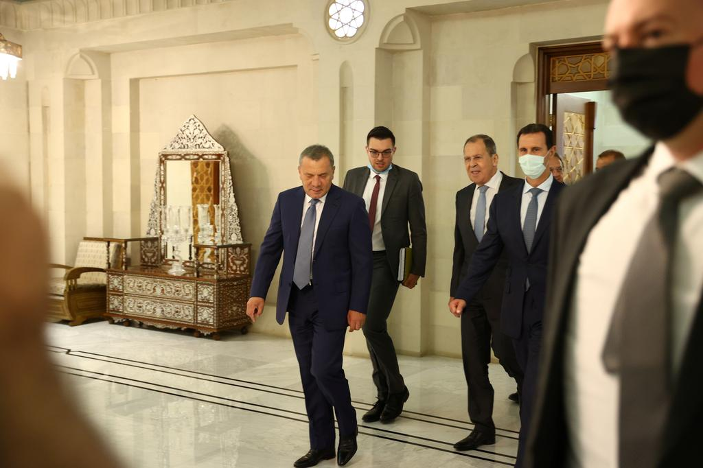 Russian FM arrives in Damascus