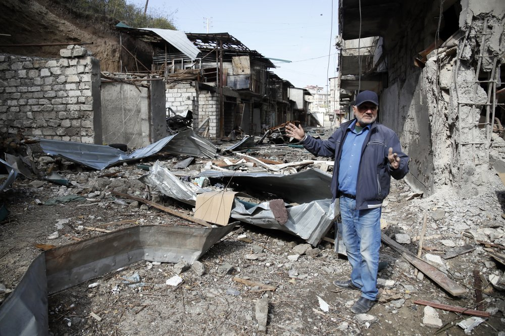 Nagorno-Karabakh ceasefire strained by new fighting reports