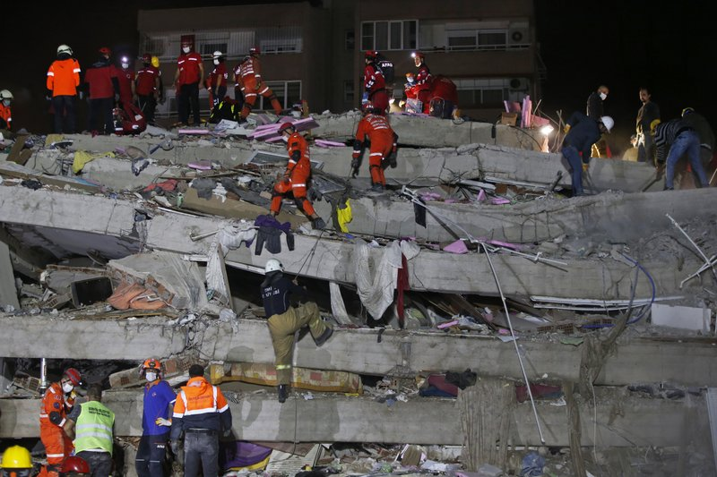 Large natural disaster leaves several dead in Turkey, rattles Greek Island