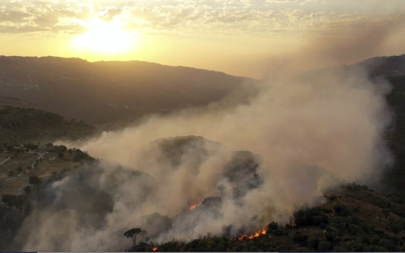 Three dead as forest fires burn in Syria, Lebanon