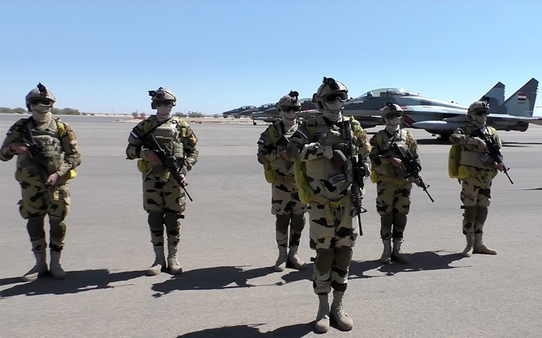 Egyptian units arrive in Sudan for military exercises