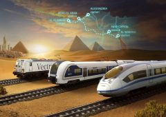 Egypt's high speed train