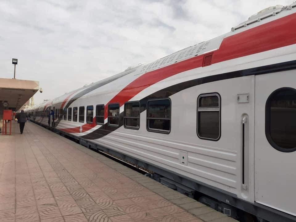 Egypt's new railroad cars