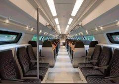 Seats of Egypt's new railroad cars-2