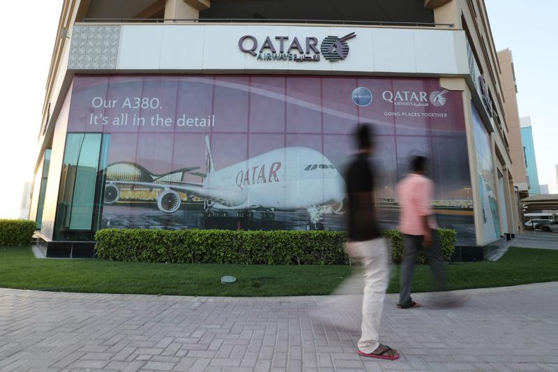 Bahrain says it will open airspace to Qatar from Monday