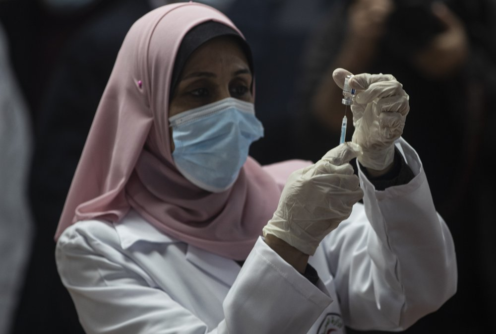 Hamas-ruled Gaza launches coronavirus vaccination drive