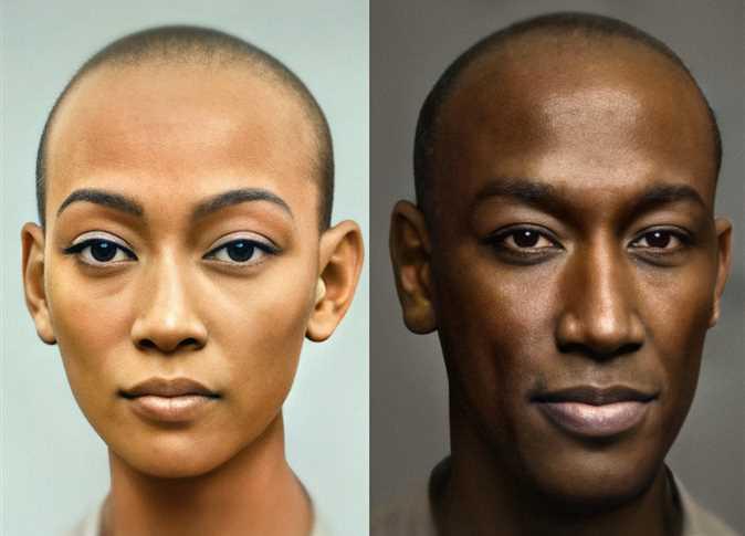 Dutch photographer reveals modern image of Egyptian King Akhenaten and Queen Nefertiti
