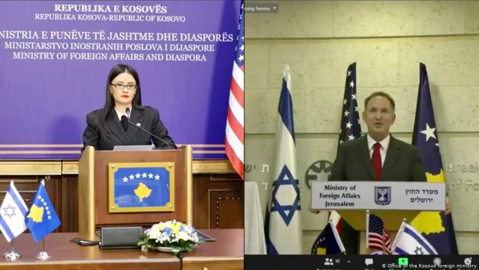Israel, Kosovo to establish ties in virtual meeting