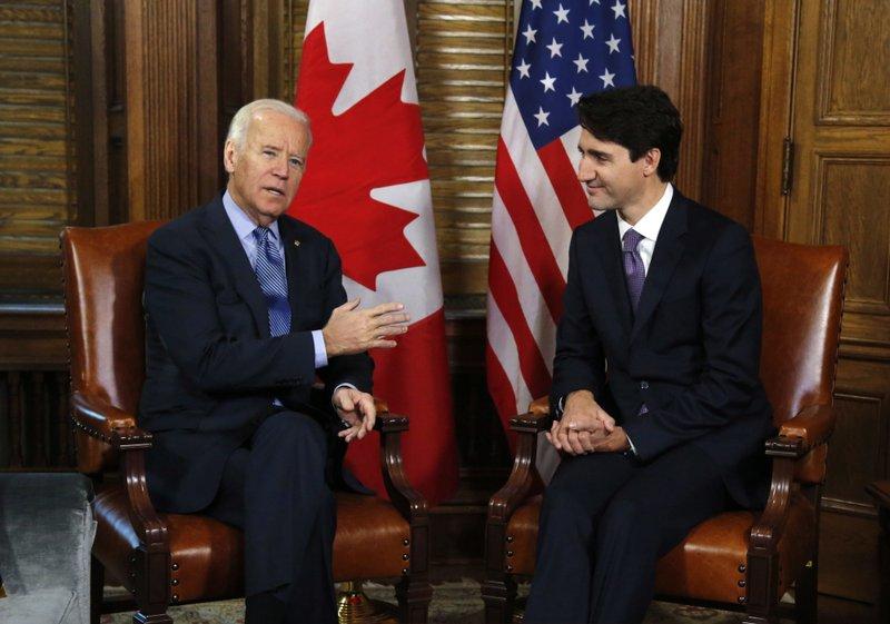 Trudeau, Biden Hold First Bilateral Meeting