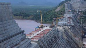 Ethiopia's Grand Renaissance Dam is under construction on the Nile River in Guba Woreda, Benishangul Gumuz Region, Ethiopia, Sept. 26, 2019. Photo by REUTERS/Tiksa Negeri