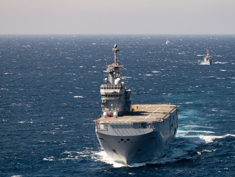 Egypt, France conduct naval exercise in the Red Sea