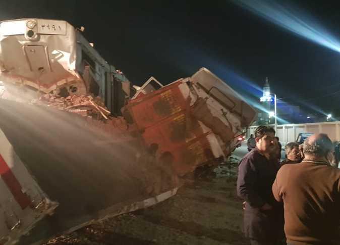 Train/Car collision in suez