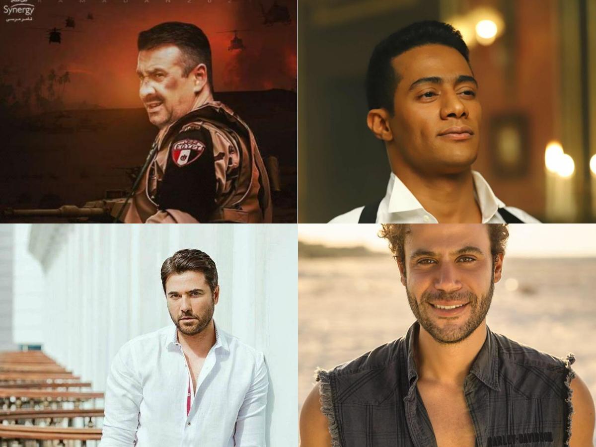 Ramadan TV series/dramas: Mohamed Ramadan-Ahmed Ezz-Mohamed Adel Emam- Karim Abdel Aziz