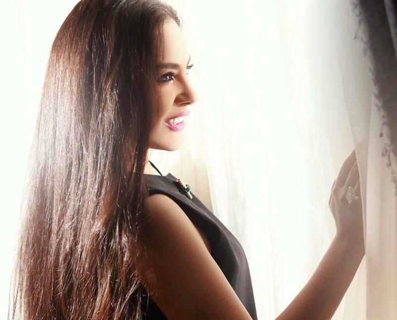 Egyptian actress Sherihan