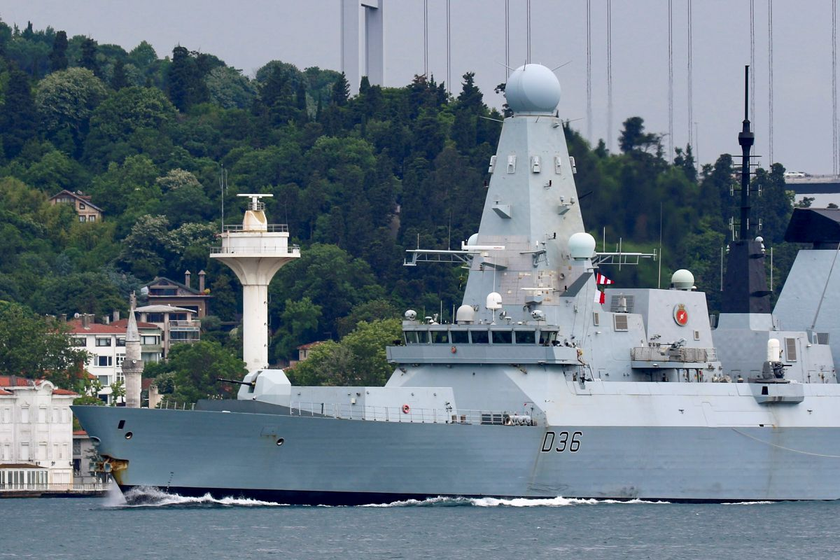 Russia says it chases British destroyer out of Crimea waters with warning  shots, bombs - Egypt Independent