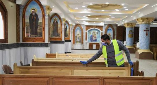 Churches in Egypt announce return of mass and other activities