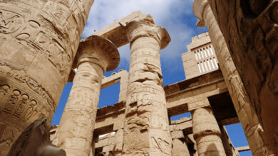 Karnak Temple - The Great Hypostyle Hall - by: Mostafa el-Saghir -Ministry of Antiquities and Tourism