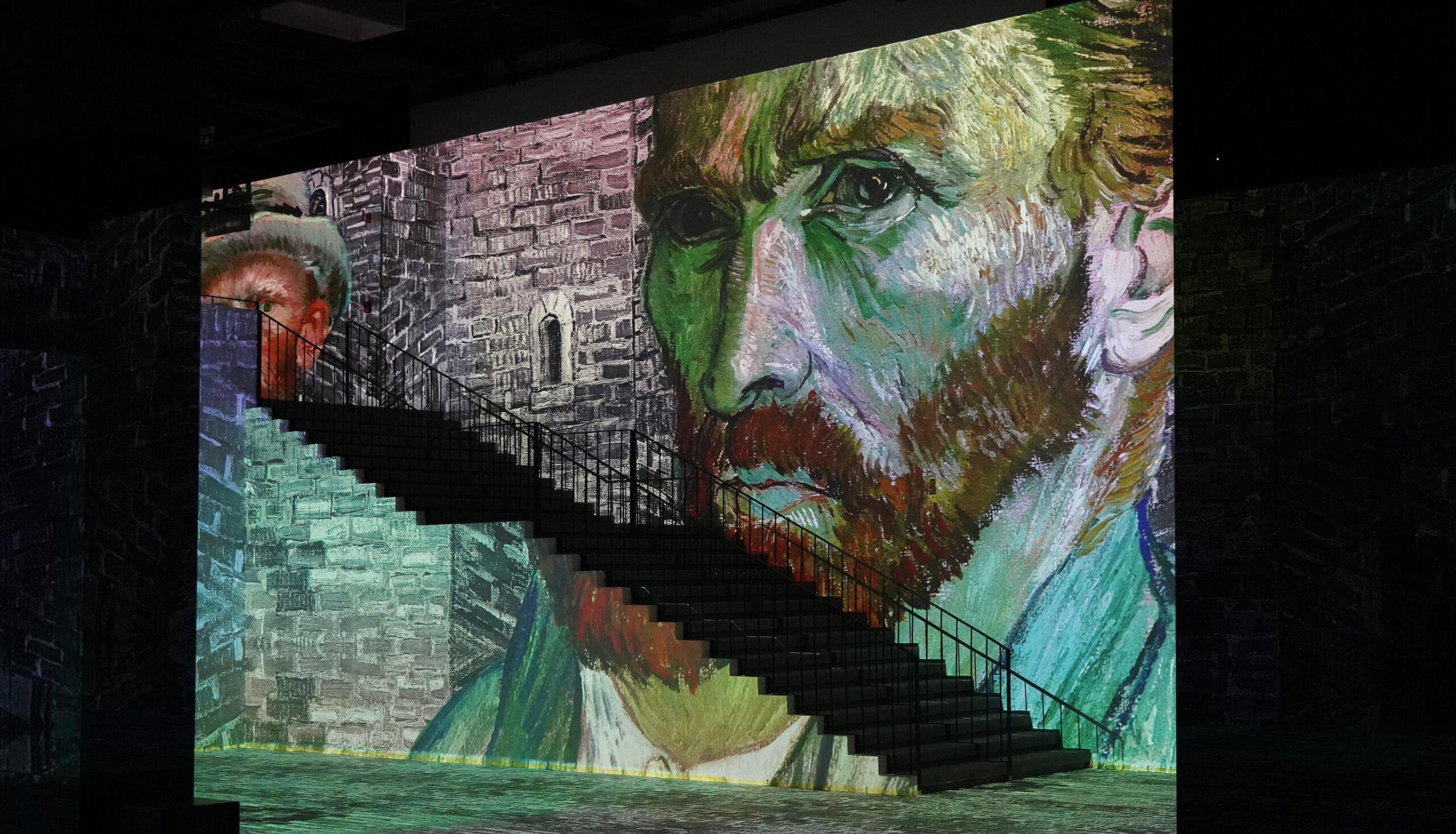 Van Gogh (4) Van Gogh (1)-Van Gogh (2)-Van Gogh (3)-Infinity Des Lumières in Dubai