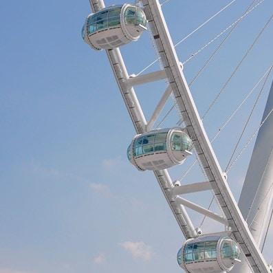 Ain Dubai's cabins (Dubai Eye)